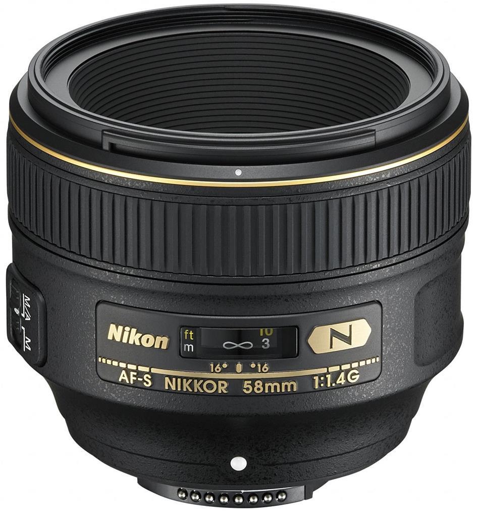 Объектив Nikon AF-S 58mm f/1.4G