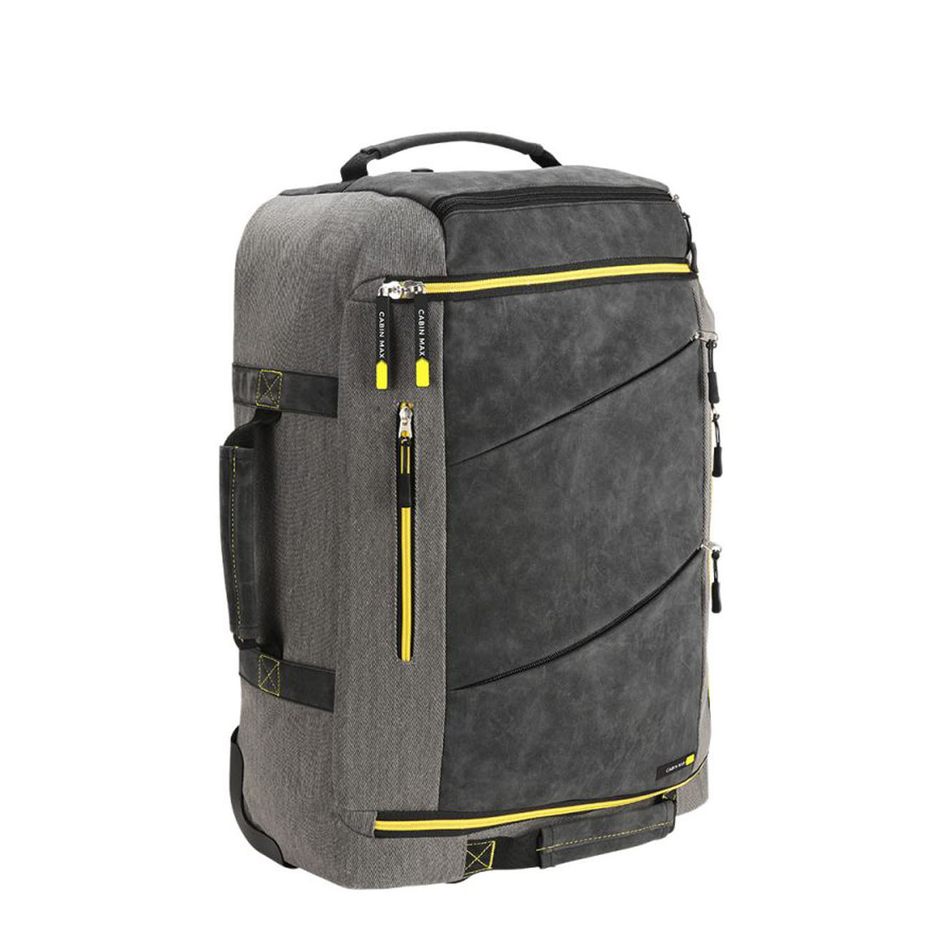 Рюкзак для ручной клади Cabin Max Manhattan Hybrid, желтый (50х40х20 см)