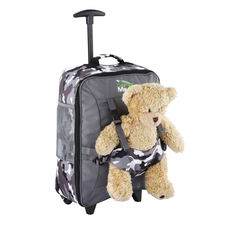 Детский чемодан для ручной клади Cabin Max Bear Camo