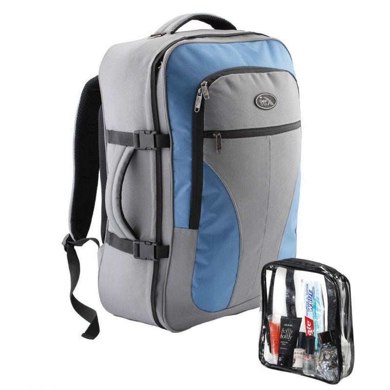 Рюкзак для ручной клади Cabin Max Palermo Gray/Blue