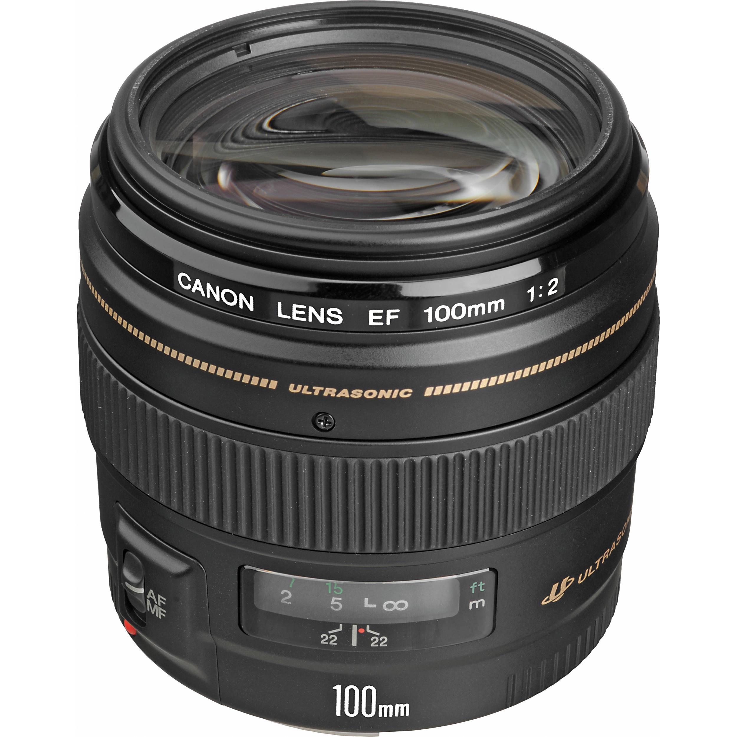 Объектив Canon EF 100mm f/2 USM