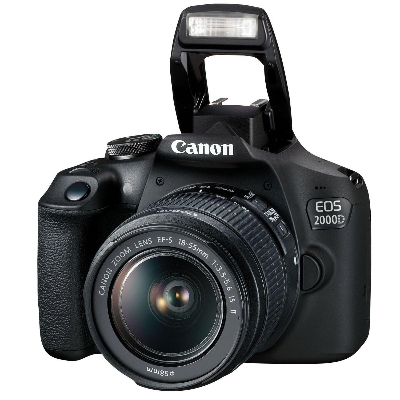 Фотоаппарат Canon EOS 2000D Kit 18-55 IS Black