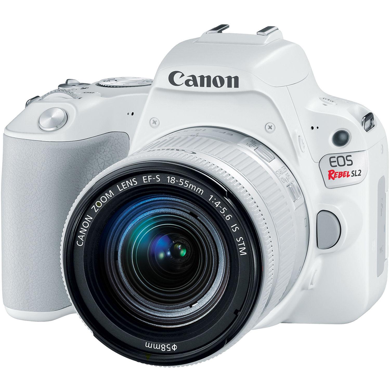 Фотоаппарат Canon EOS 200D Kit 18-55 STM White