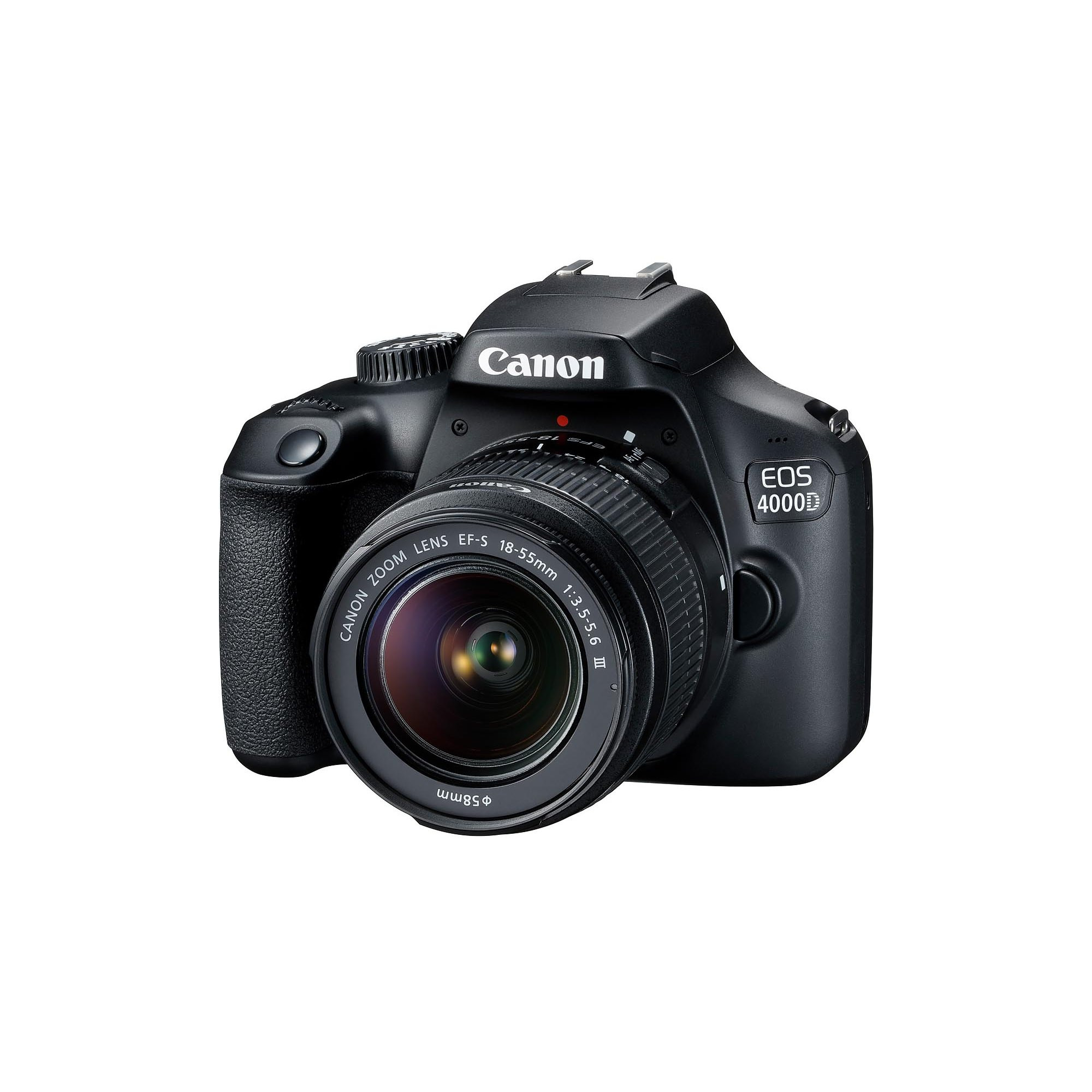 Фотоаппарат Canon EOS 4000D Kit 18-55 DC III Black