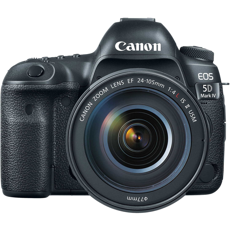 Фотоаппарат Canon EOS 5D Mark IV Kit 24-105 II