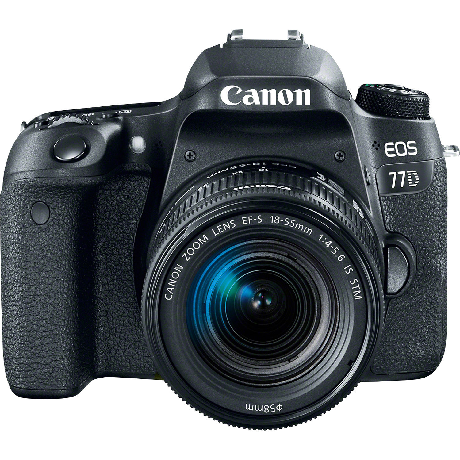 Фотоаппарат Canon EOS 77D Kit 18-55 IS STM