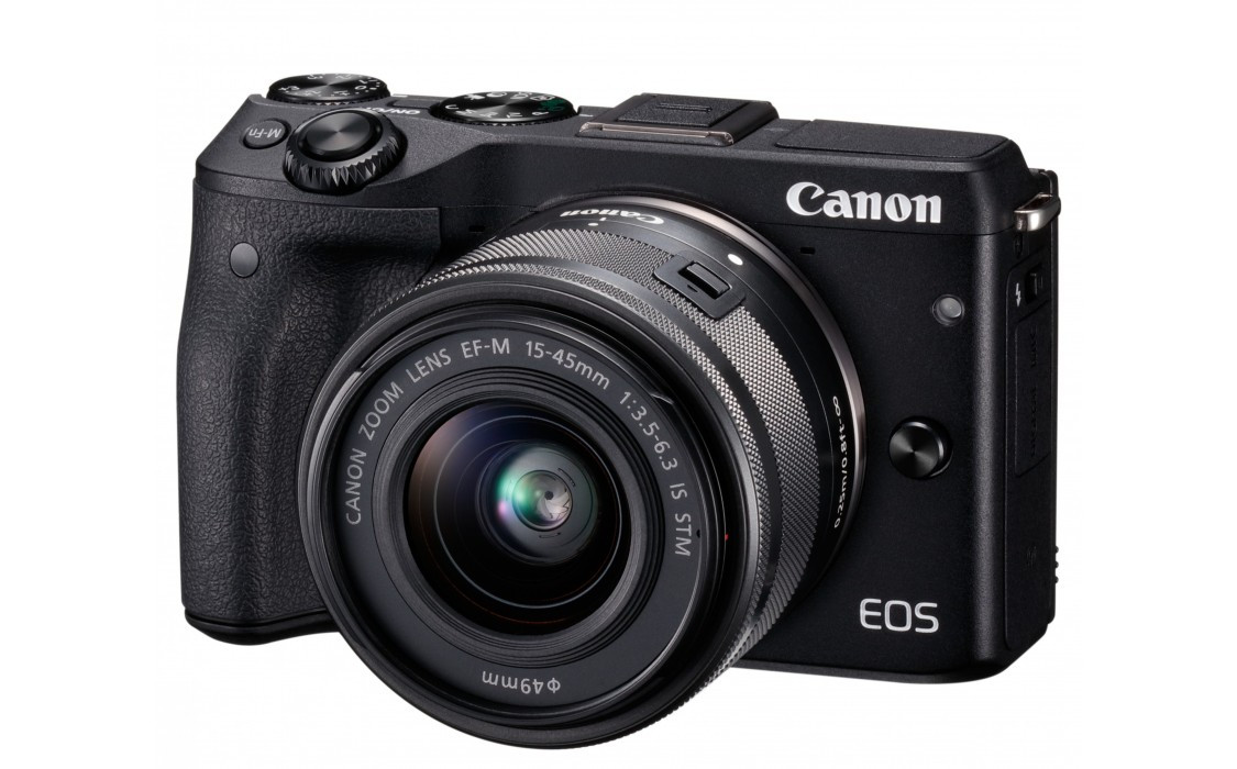Фотоаппарат Canon EOS M3 Kit 15-45 IS STM