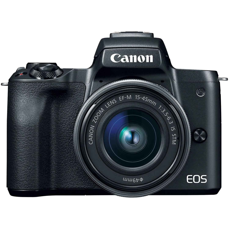 Фотоаппарат Canon EOS M50 Kit 15-45 IS STM Black