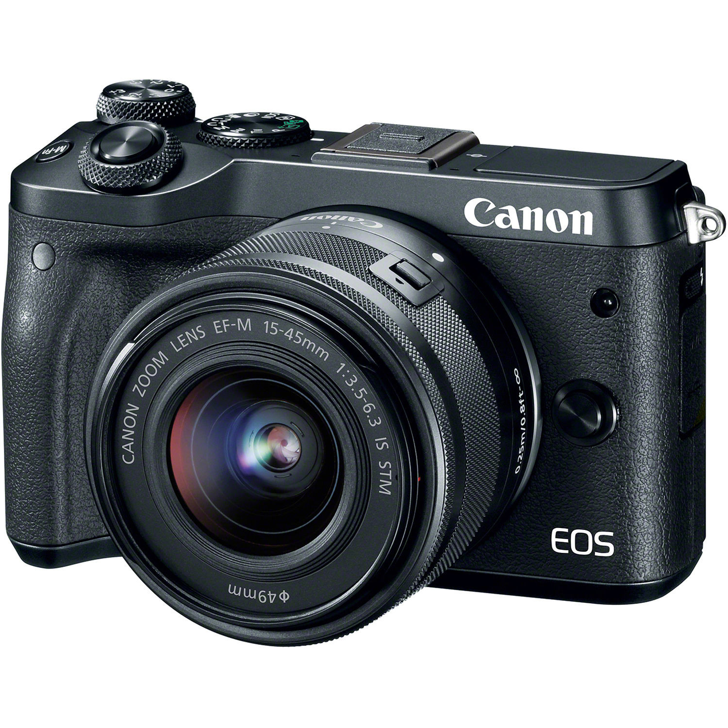 Фотоаппарат Canon EOS M6 Kit 15-45 IS STM Black