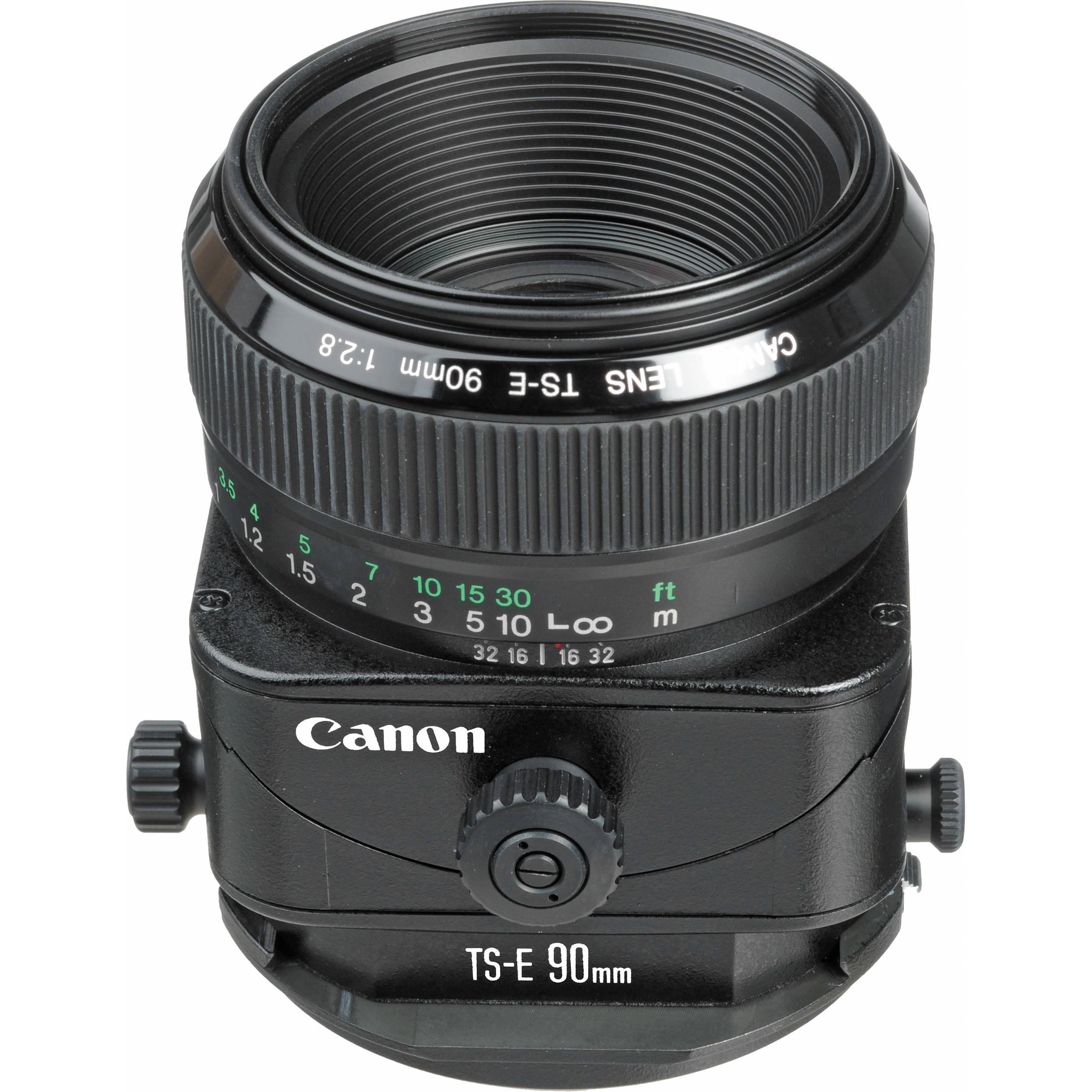 Объектив Canon TS-E 90mm f/2.8