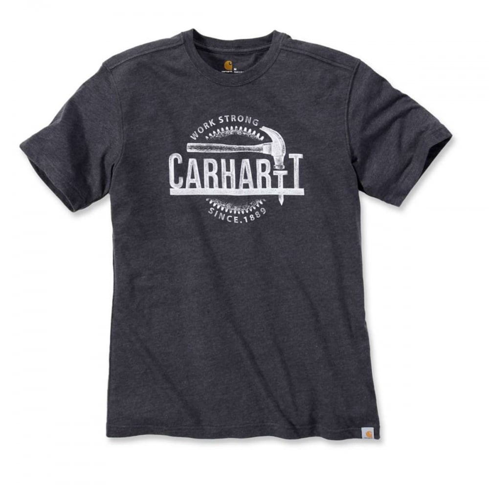 Футболка Carhartt Hammer Graphic T-Shirt 103202 (Carbon Heather)