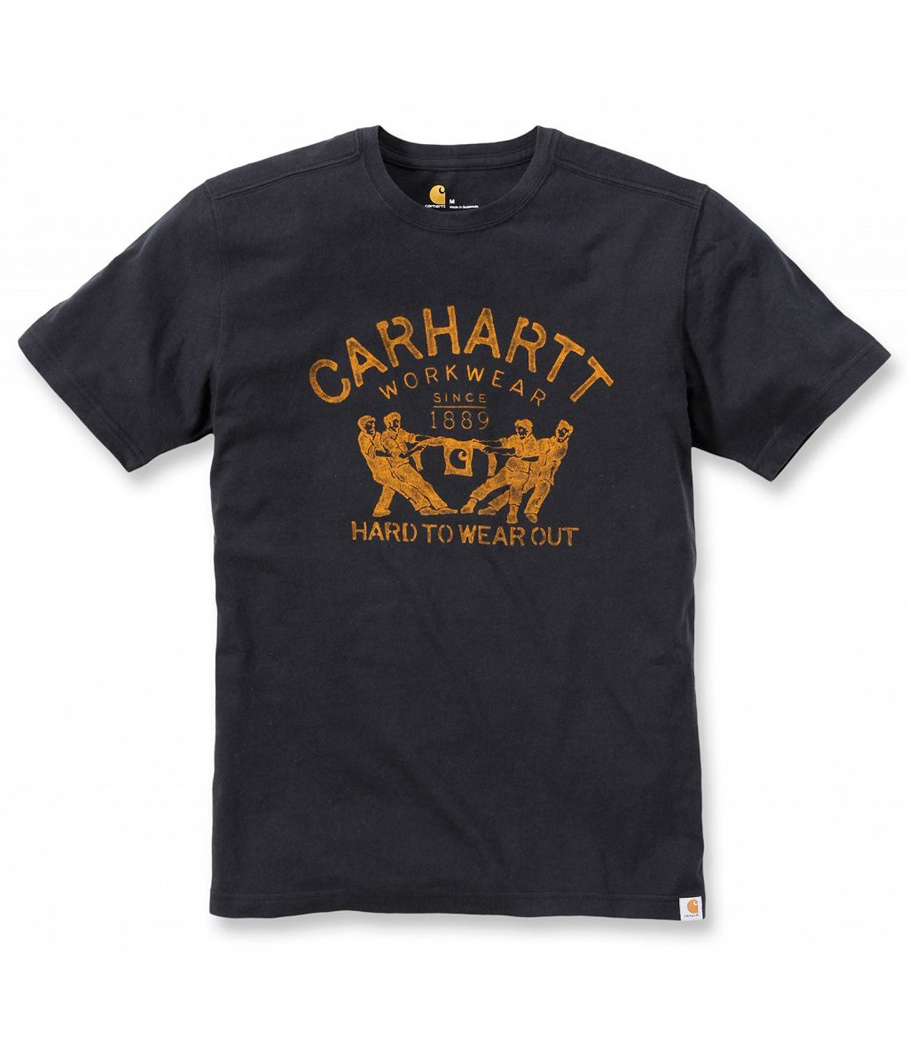 Футболка Carhartt Hard To Wear Out Graphic T-Shirt S/S - 102097 (Black, S)