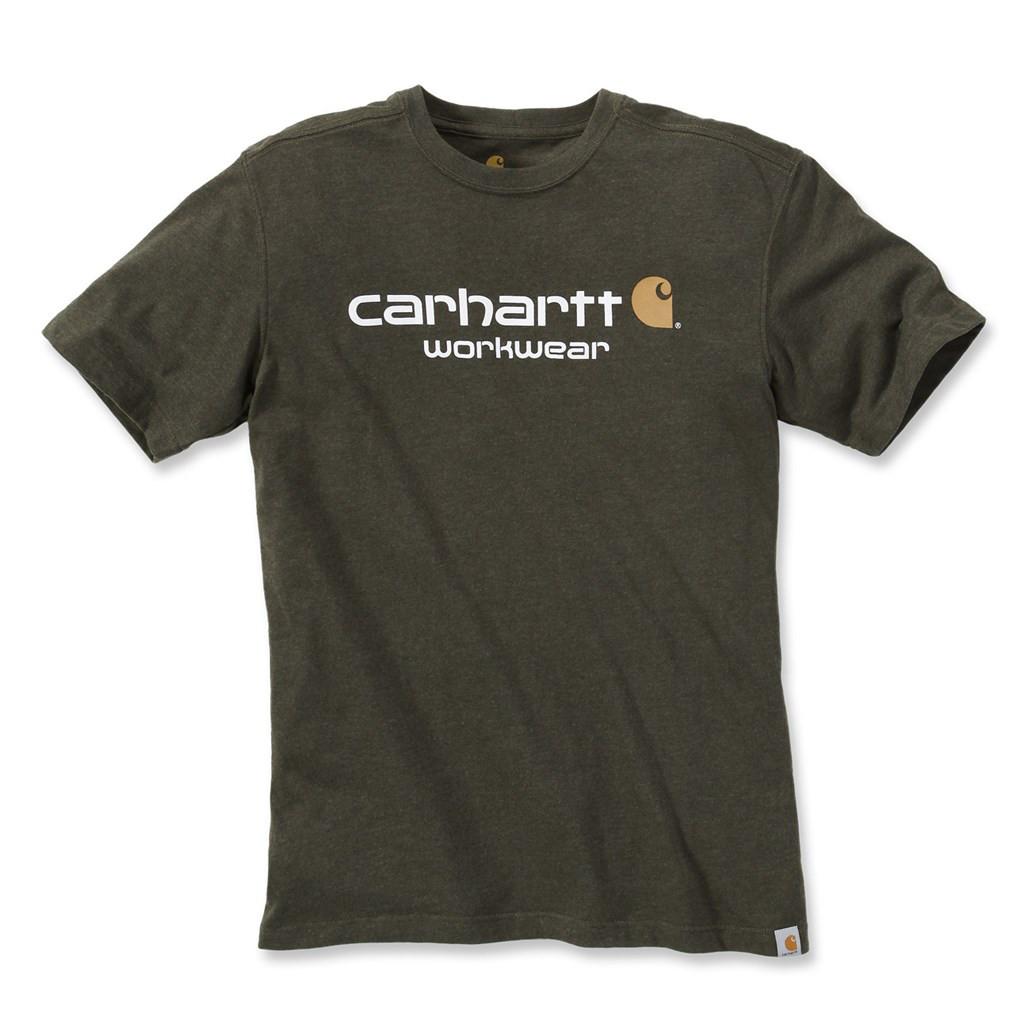 Футболка Carhartt Core Logo T-Shirt (101214)