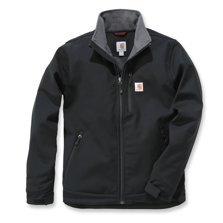 Куртка софтшел Carhartt Crowley Soft Shell Jacket - 102199 (Black, L)
