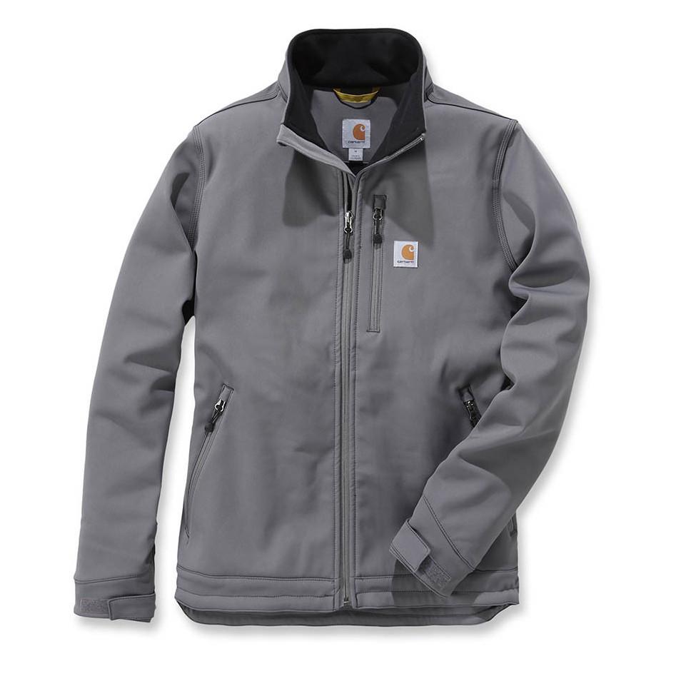 Куртка софтшел Carhartt Crowley Soft Shell Jacket - 102199 (Charcoal, S)
