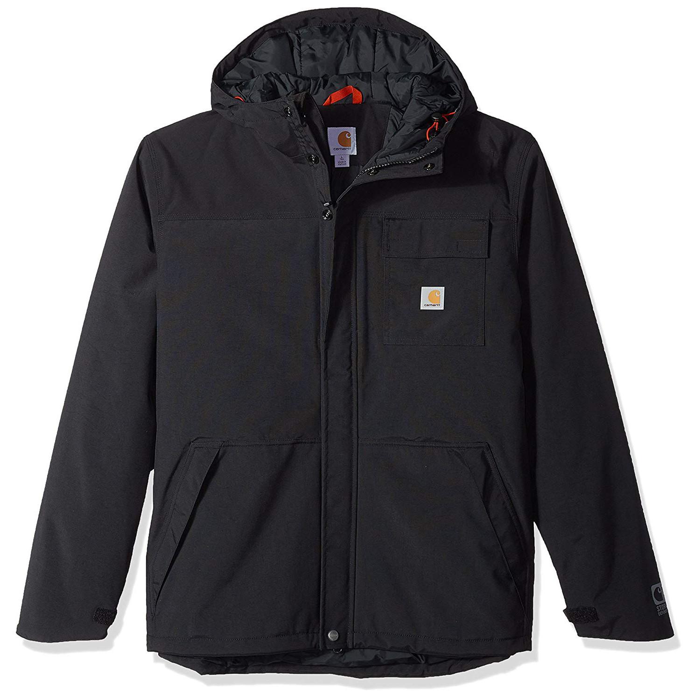 Куртка на мембране Carhartt Insulated Shoreline Jacket - 102702 (Black, XL)