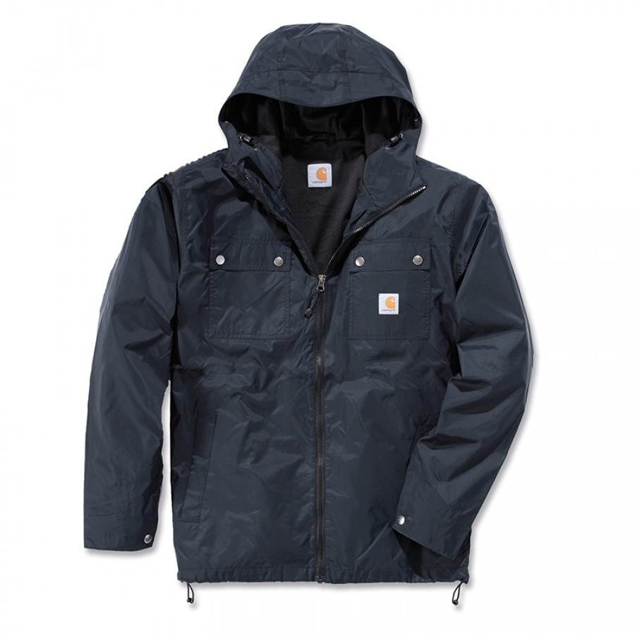 Куртка с защитой от дождя Carhartt Rockford Jacket - 100247 (Black, S)