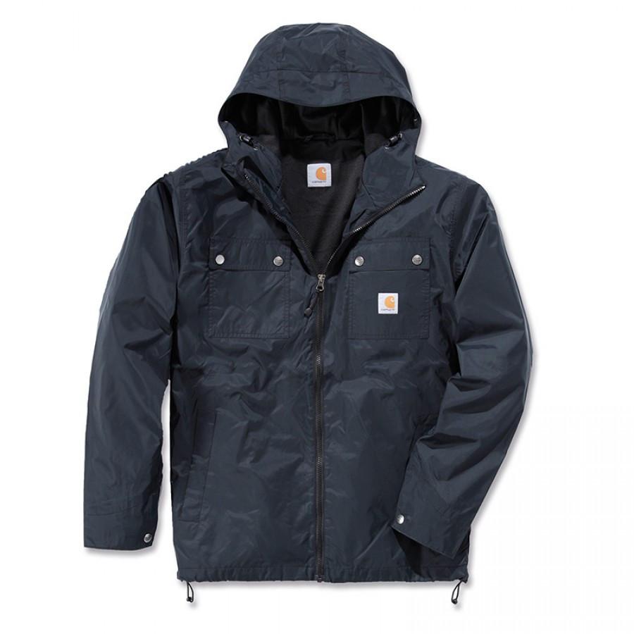 Куртка с защитой от дождя Carhartt Rockford Jacket - 100247 (Black, XL)