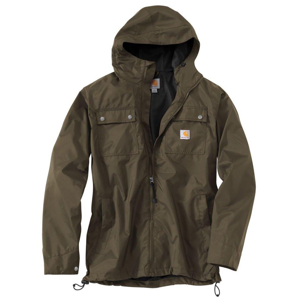 Куртка с защитой от дождя Carhartt Rockford Jacket - 100247 (Breen, XL)