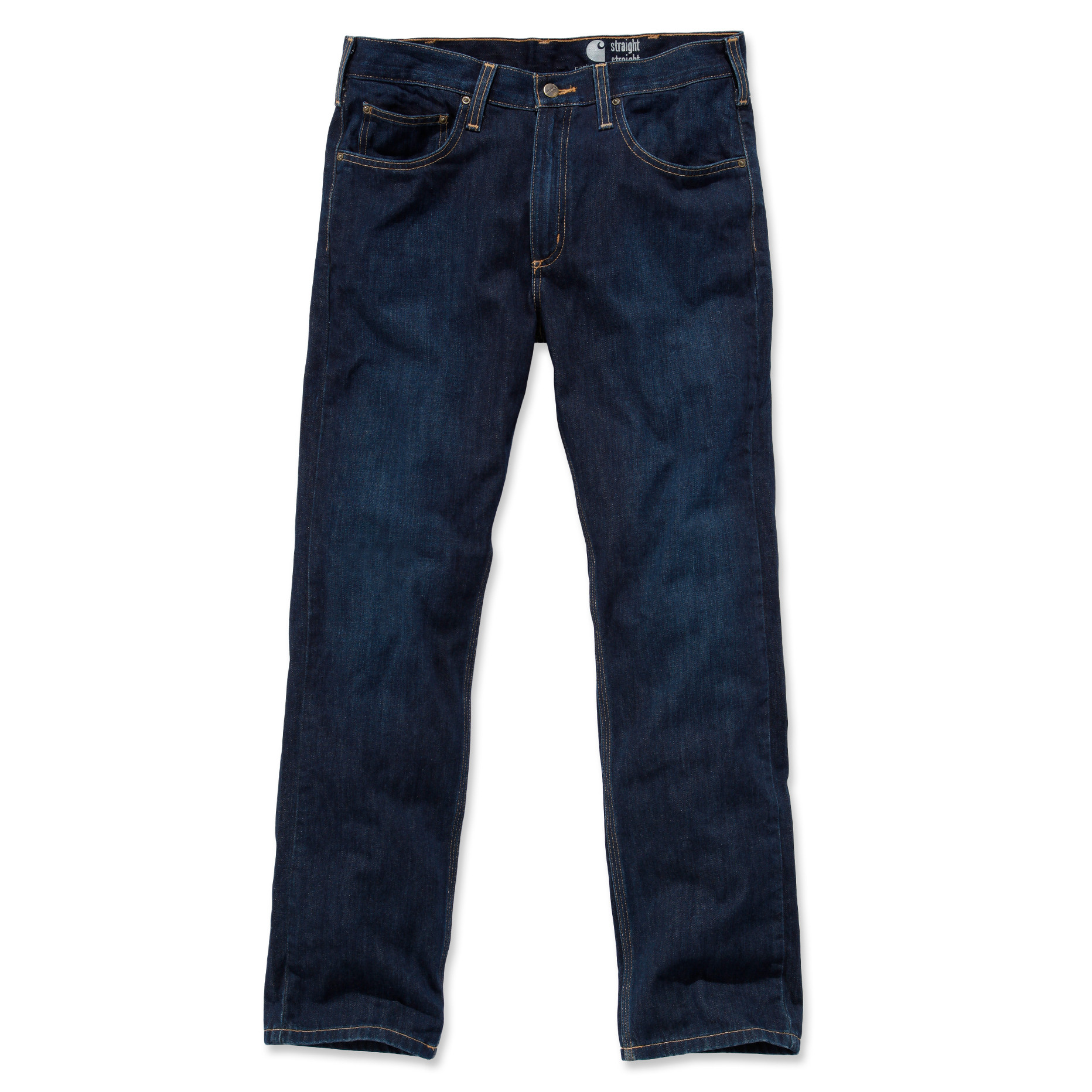 Джинсы Carhartt Straight Fit Jeans - 100067 (Weathered Indigo, W36/L32)