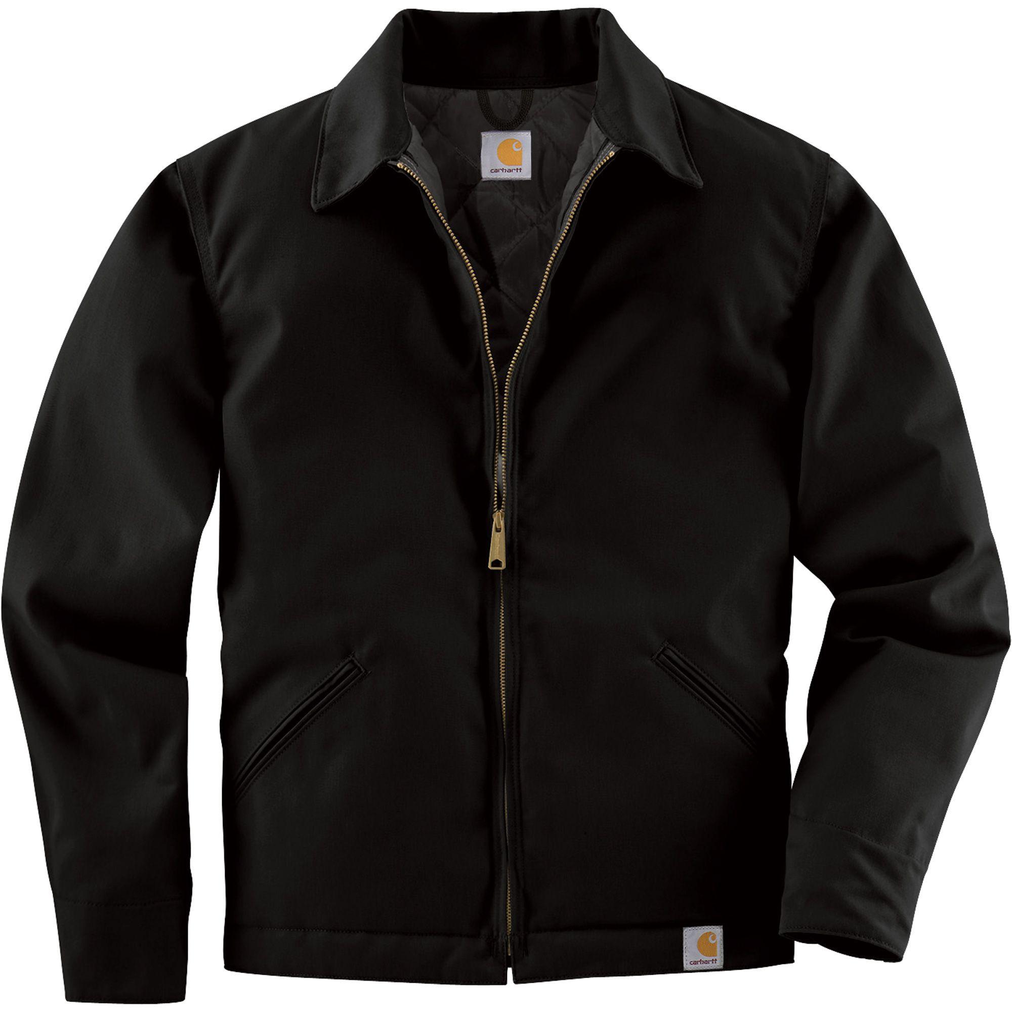 Куртка Carhartt Twill Work Jacket - J293 (Black, S)
