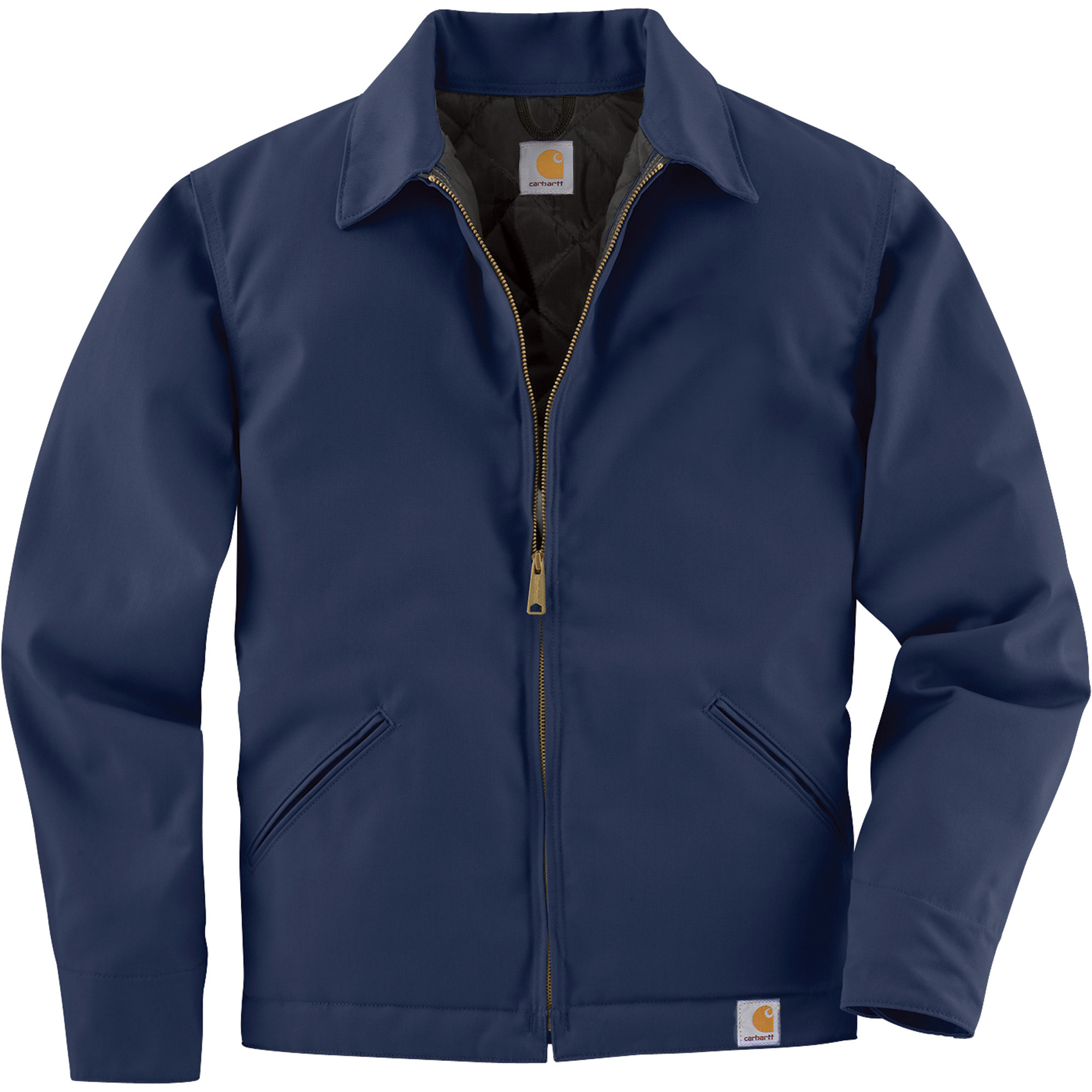 Куртка Carhartt Twill Work Jacket - J293 (Navy, S)
