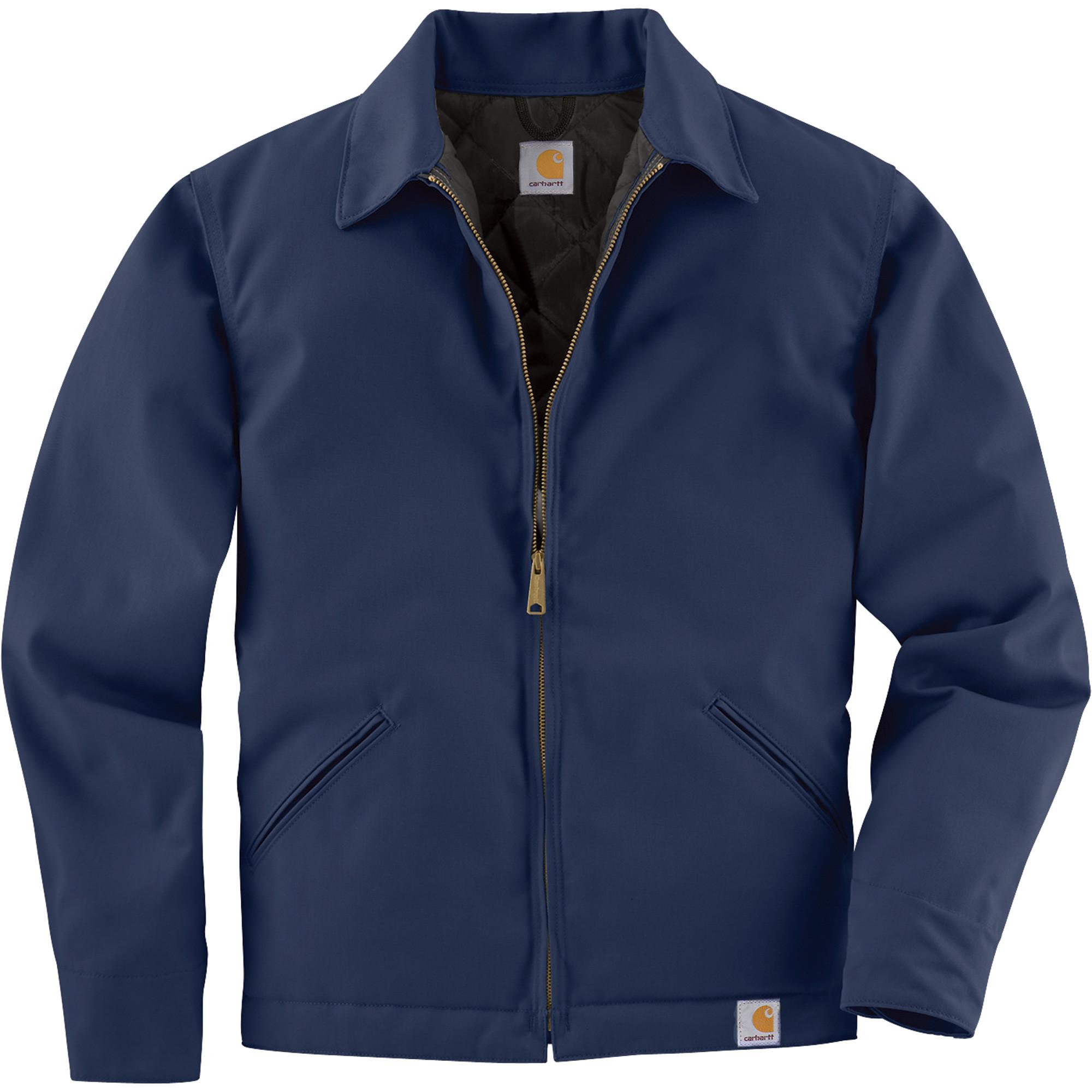 Куртка Carhartt Twill Work Jacket - J293 (Navy, XL)