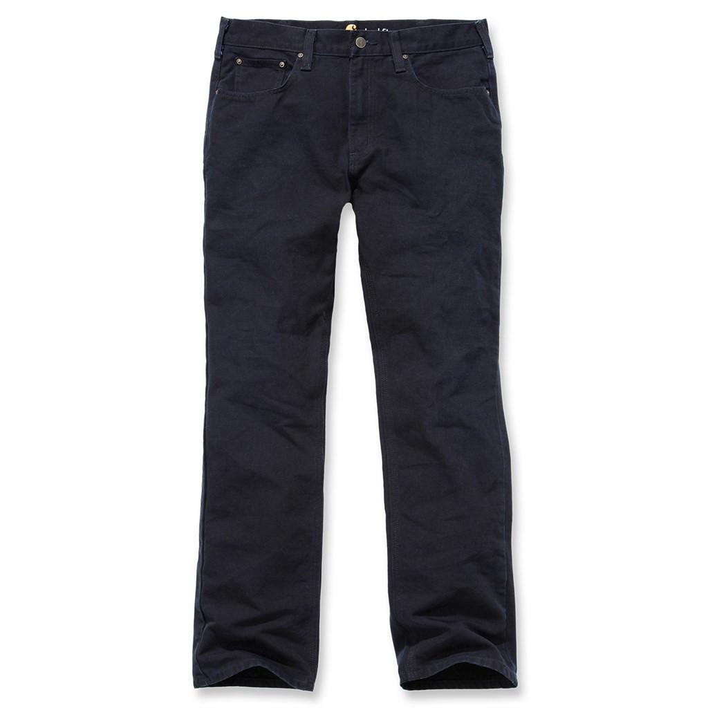 Штаны Carhartt Weathered Duck 5 Pocket Pant - 100096 (Black, W34/L32)