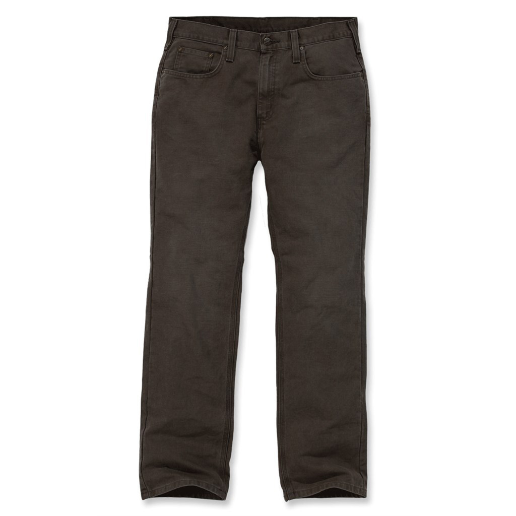 Штаны Carhartt Weathered Duck 5 Pocket Pant - 100096 (Dark Coffee, W30/L32)