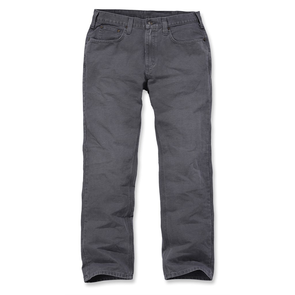 Штаны Carhartt Weathered Duck 5 Pocket Pant - 100096 (Gravel, W36/L32)