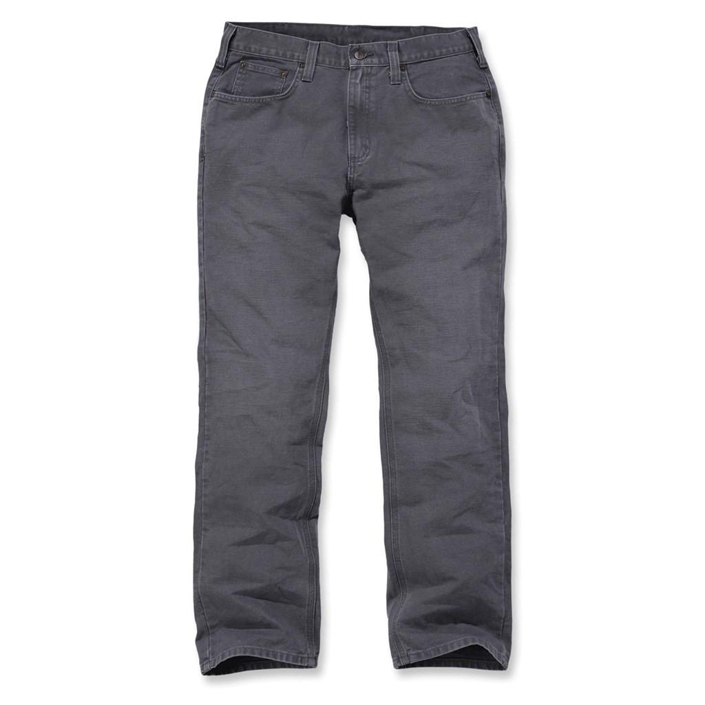 Штаны Carhartt Weathered Duck 5 Pocket Pant - 100096 (Gravel, W30/L32)