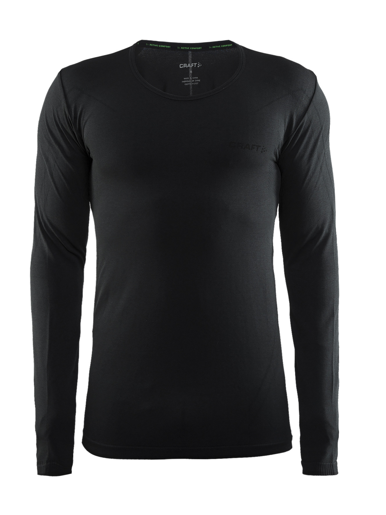 Термофутболка Craft Active Comfort RN LS Man Black Solid M