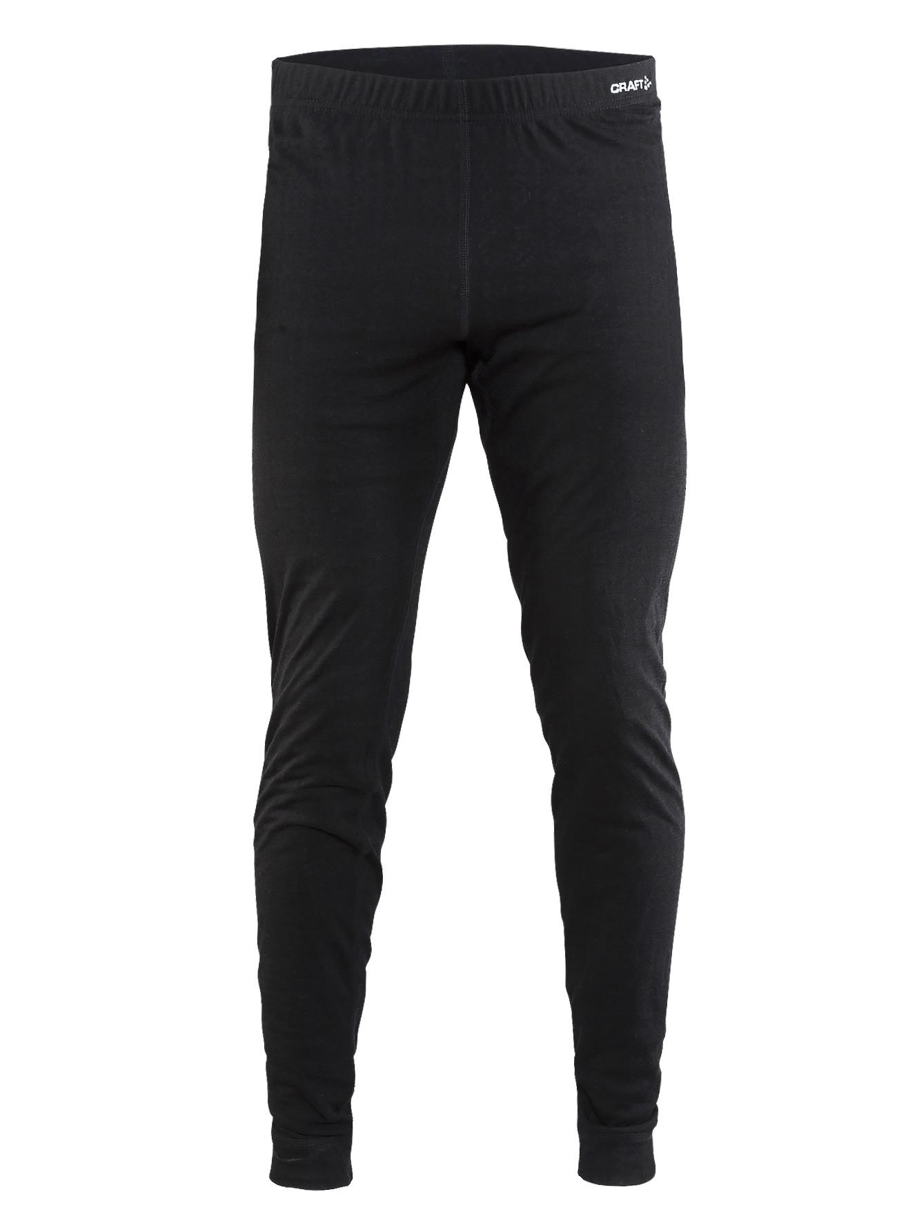 Термоштаны Craft Nordic Wool Pants M Black/Dark Grey Melange L