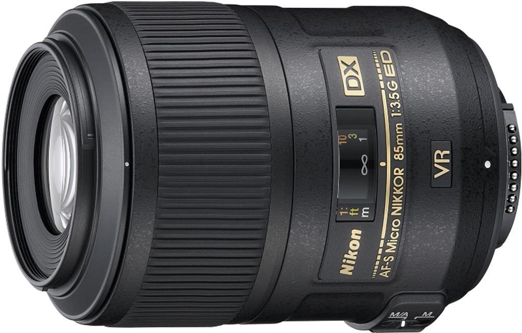 Объектив Nikon AF-S DX 85mm f/3.5G ED VR