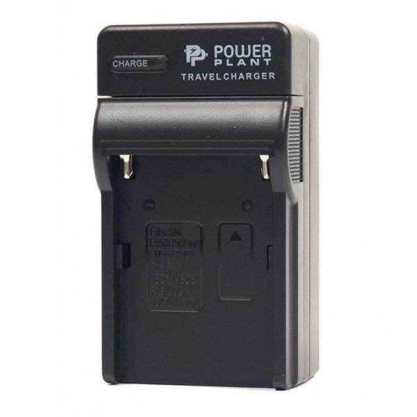 Сетевое зарядное устройство PowerPlant Sony NP-F750, NP-F960, NP-FM90 (DV00DV2015)