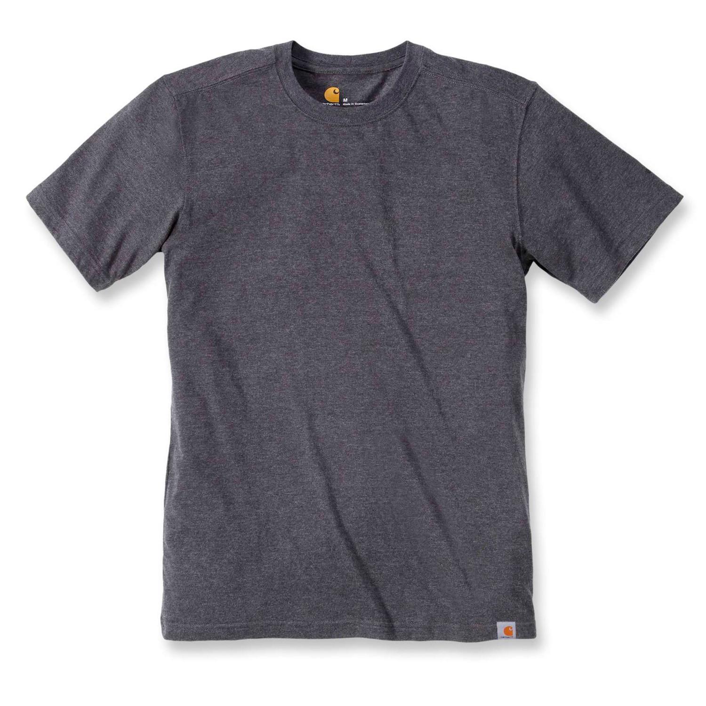 Футболка Carhartt Maddock T-Shirt S/S - 101124 (Carbon Heather, S)