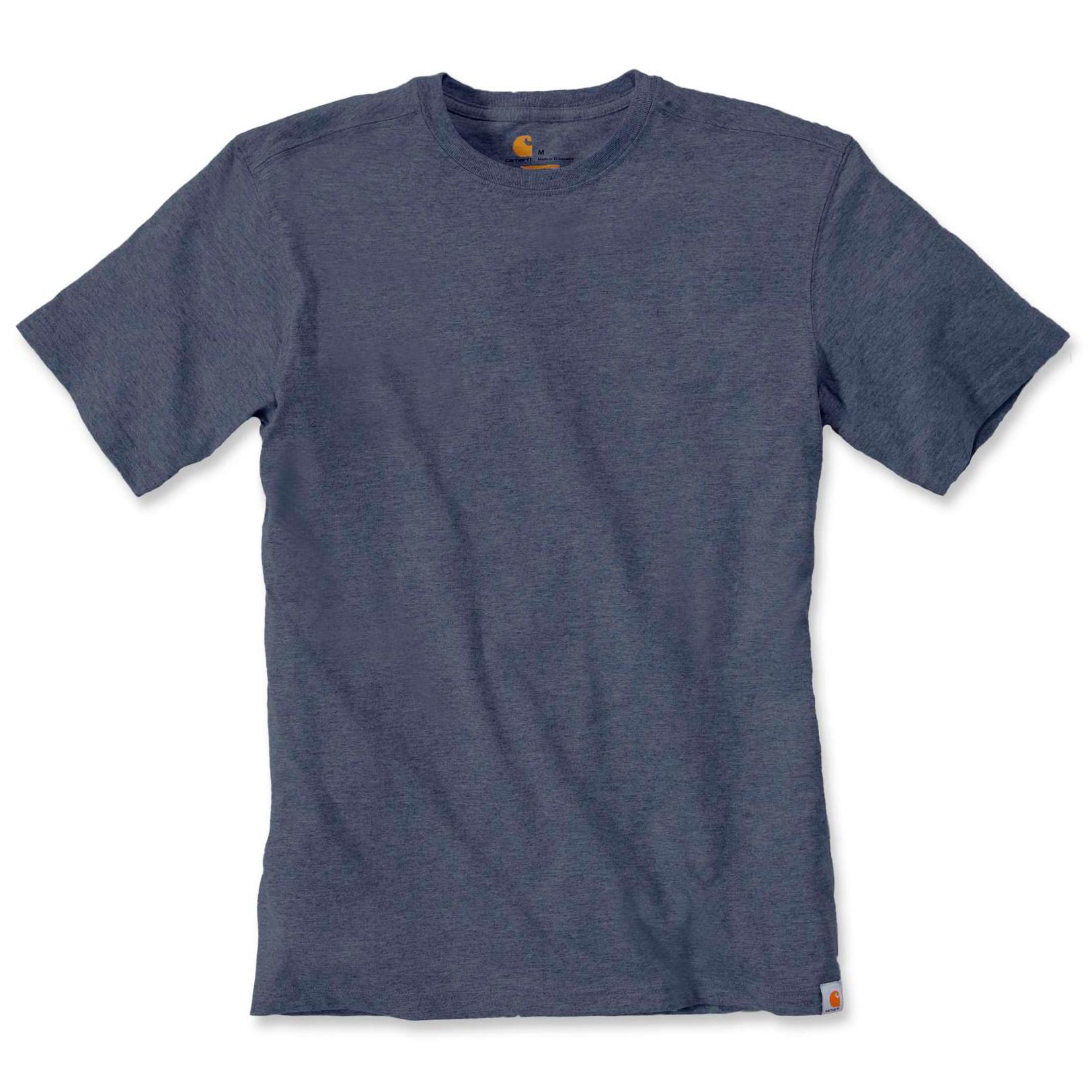 Футболка Carhartt Maddock T-Shirt S/S - 101124 (Indigo Heather, L)