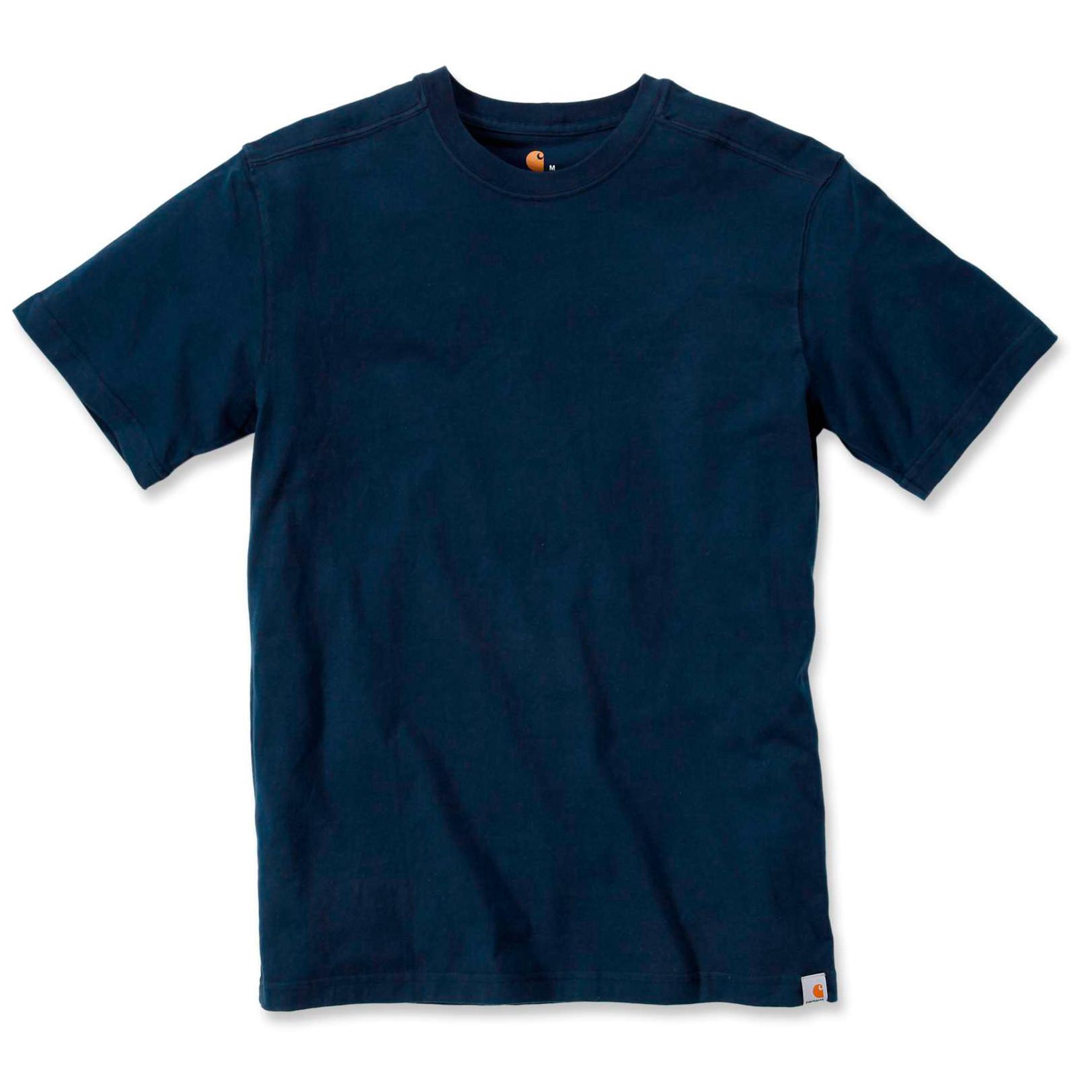 Футболка Carhartt Maddock T-Shirt S/S - 101124 (Navy, L)