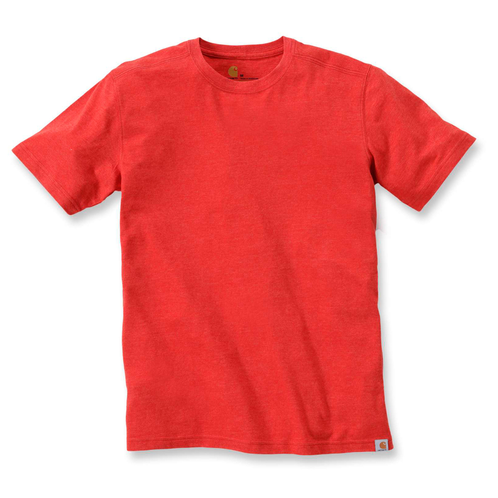 Футболка Carhartt Maddock T-Shirt S/S - 101124 (Chili Heather)