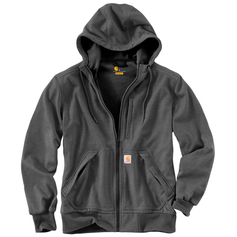 Худи Carhartt Wind Fighter Hooded Sweatshirt - 101759 (Carbon Heather, M)