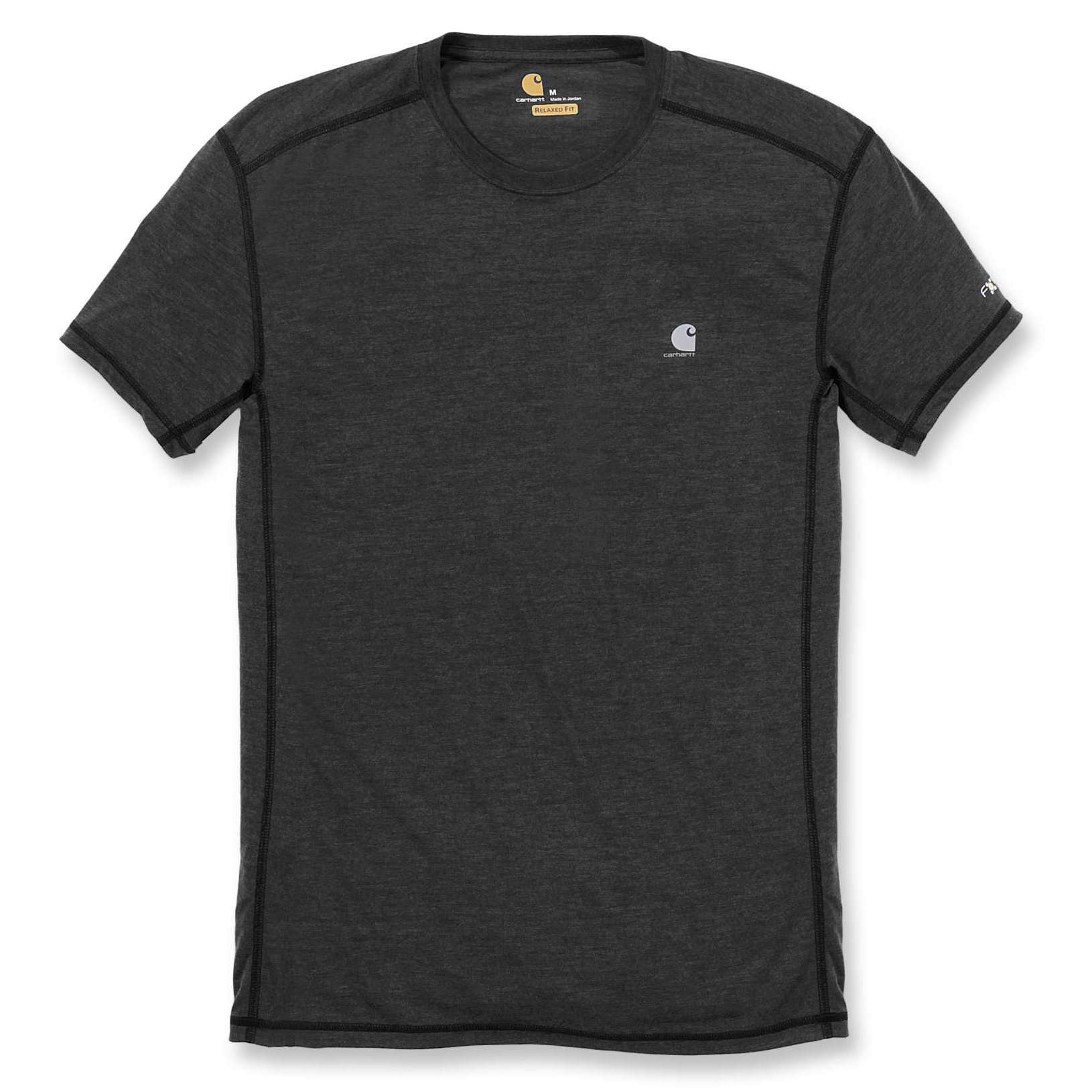 Футболка Carhartt Force Extremes T-Shirt S/S - 102960 (Black/Black Heather; L)