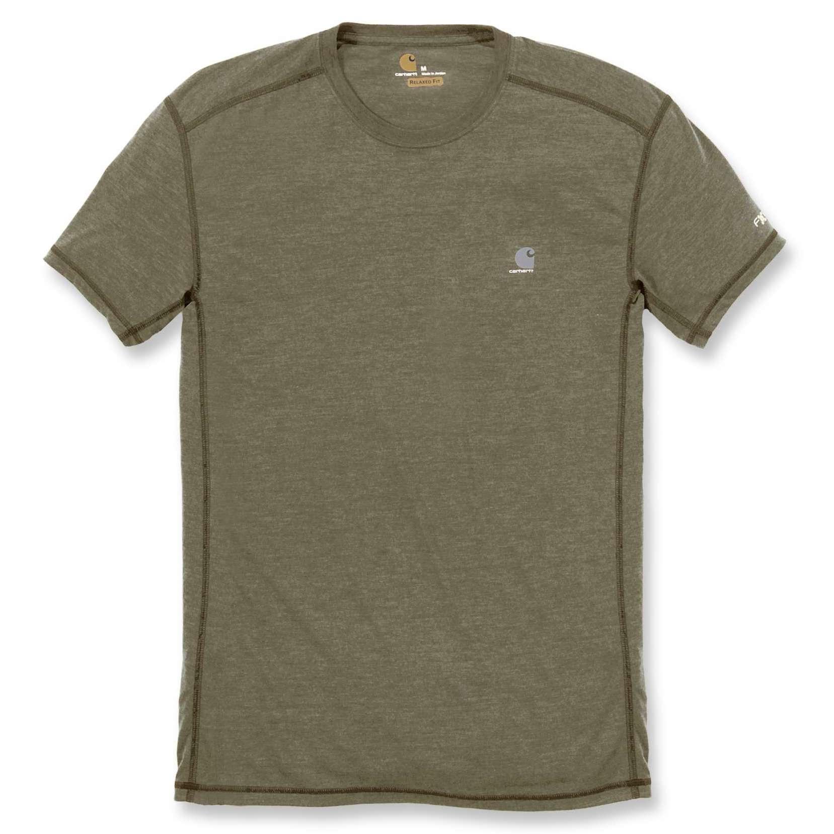 Футболка Carhartt Force Extremes T-Shirt S/S 102960 (Burnt Olive Heather)