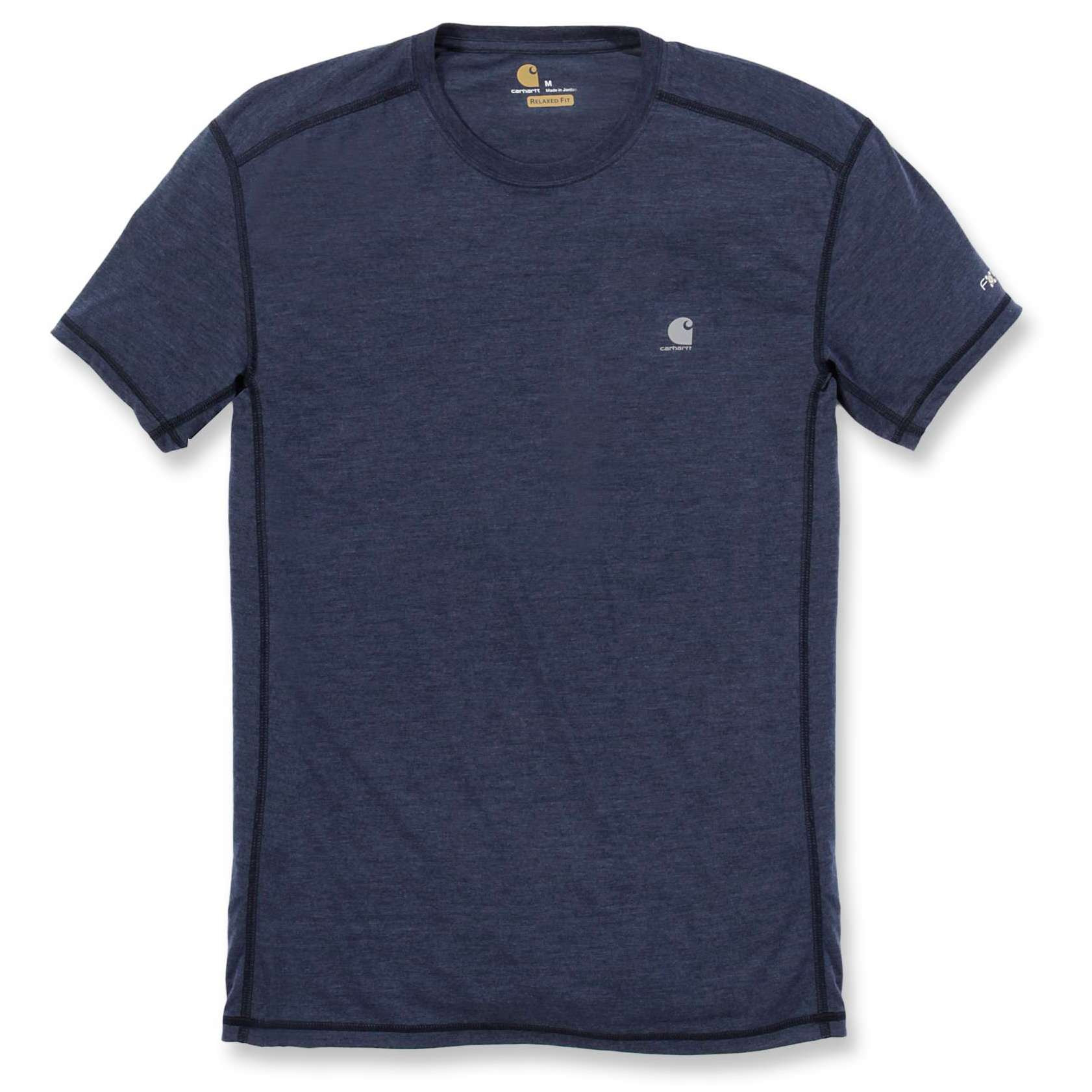 Футболка Carhartt Force Extremes T-Shirt S/S - 102960 (Navy Heather; L)