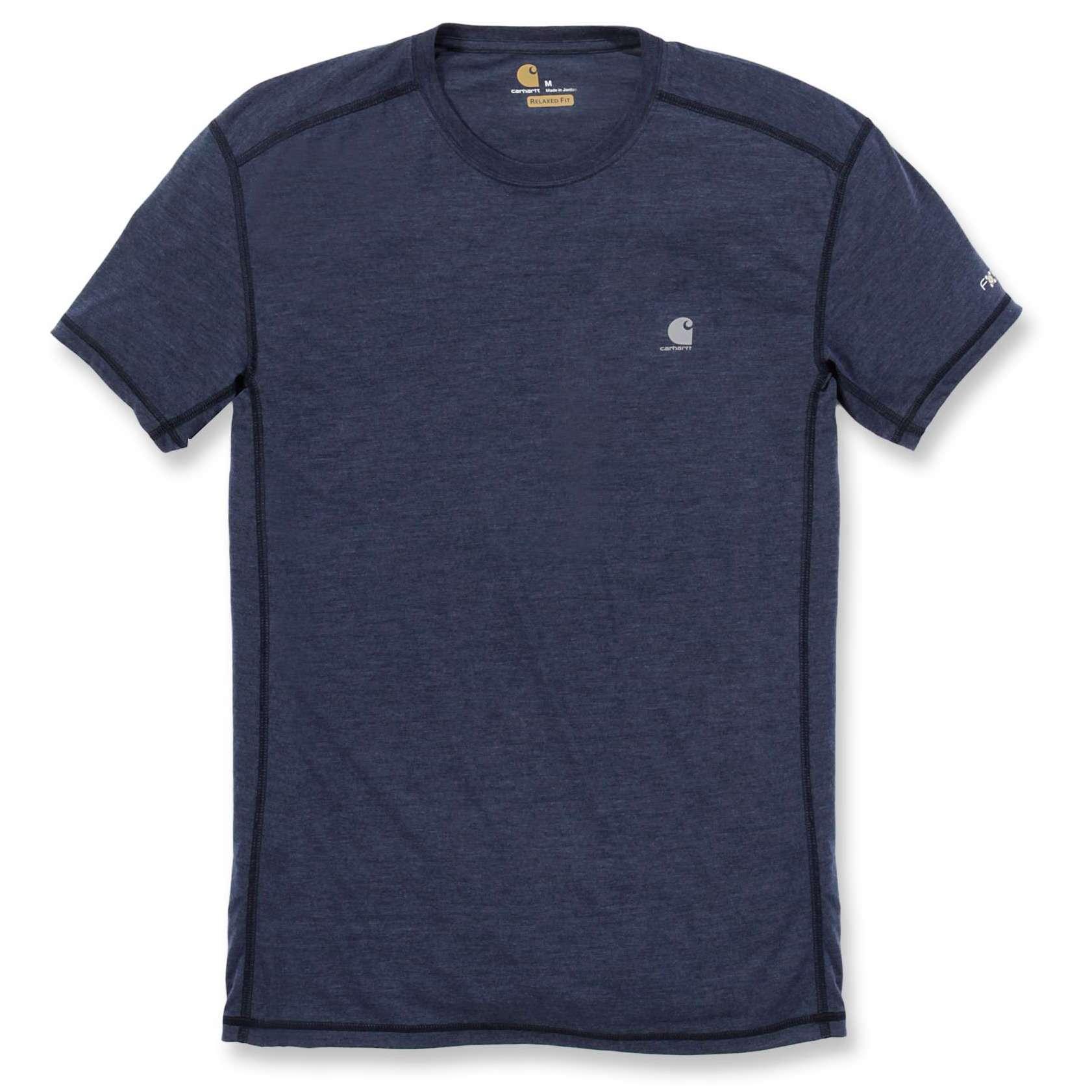 Футболка Carhartt Force Extremes T-Shirt S/S - 102960 (Navy Heather; M)