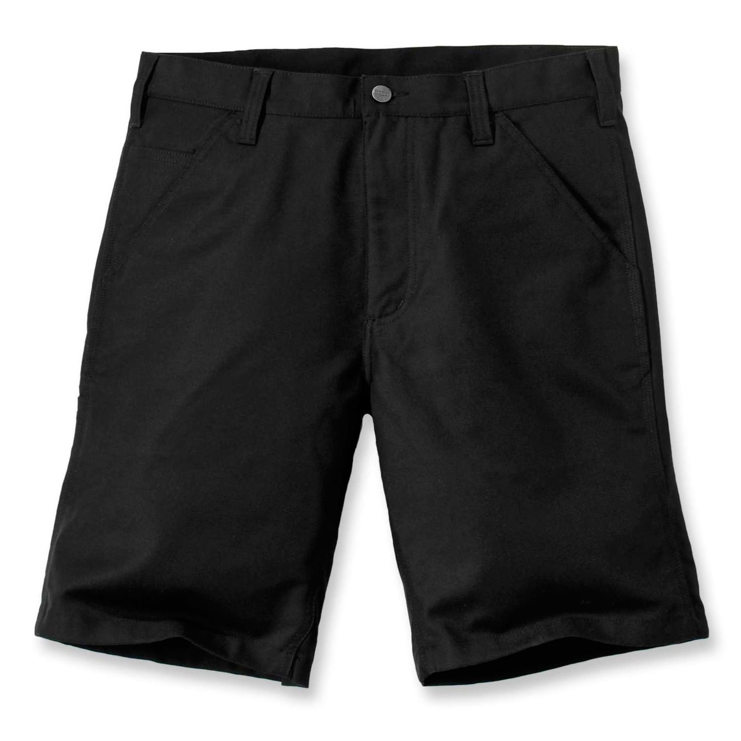 Шорты Carhartt Rugged Stretch Canvas Short - 103111 (Black, W32)