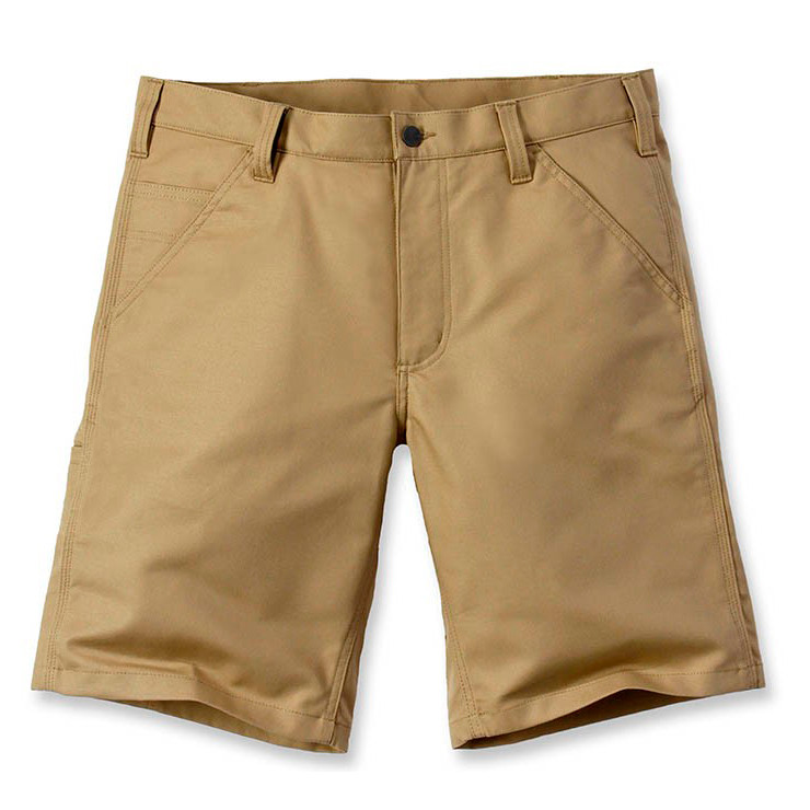 Шорты Carhartt Rugged Stretch Canvas Short - 103111 (Dark Khaki, W34)