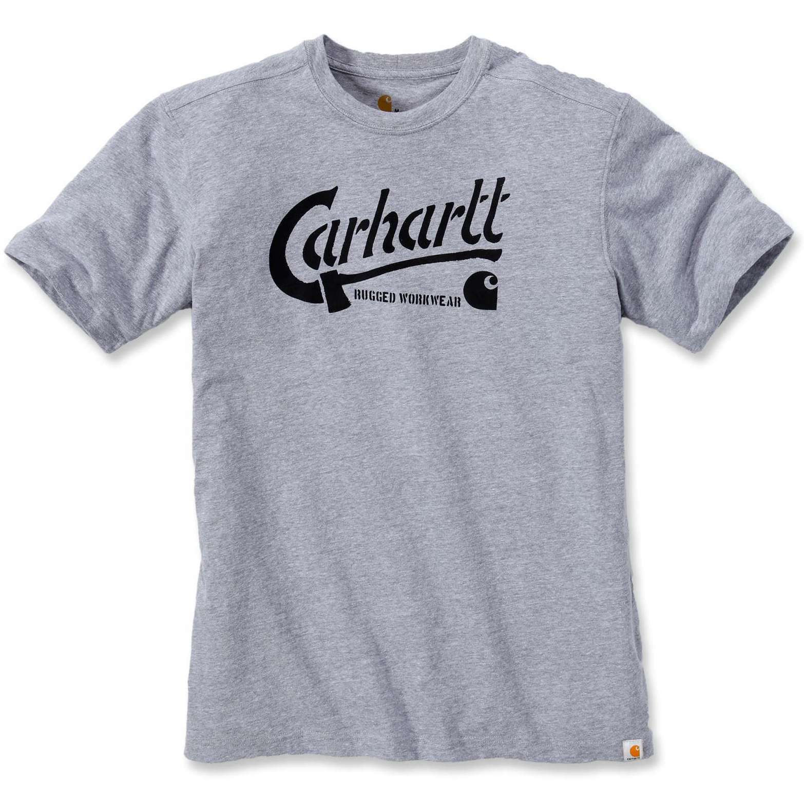 Футболка Carhartt AX Graphic T-Shirt S/S - 103183 (Heather Grey; M)