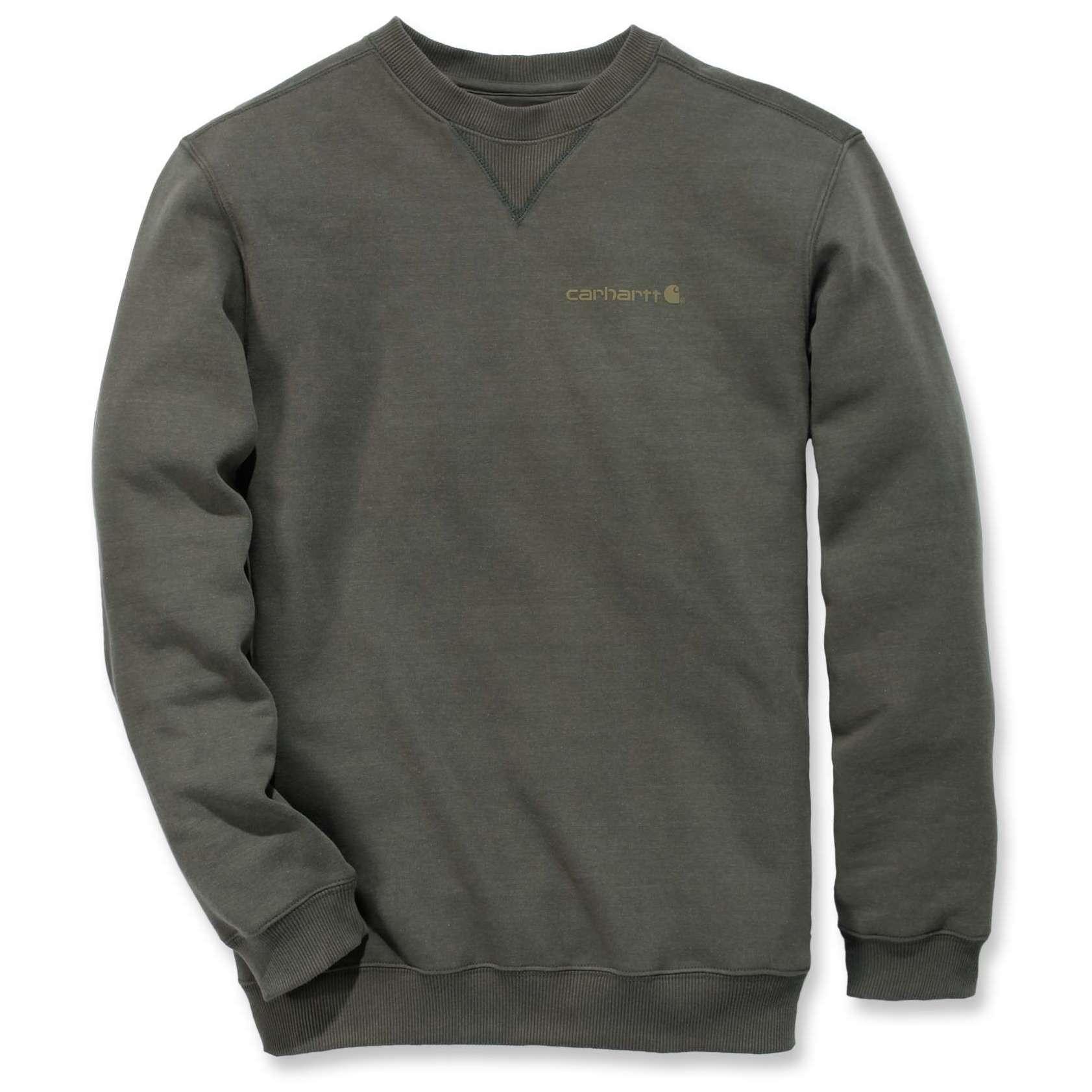 Свитшот Carhartt Graphic Pullover - 103307 (Moss; M)