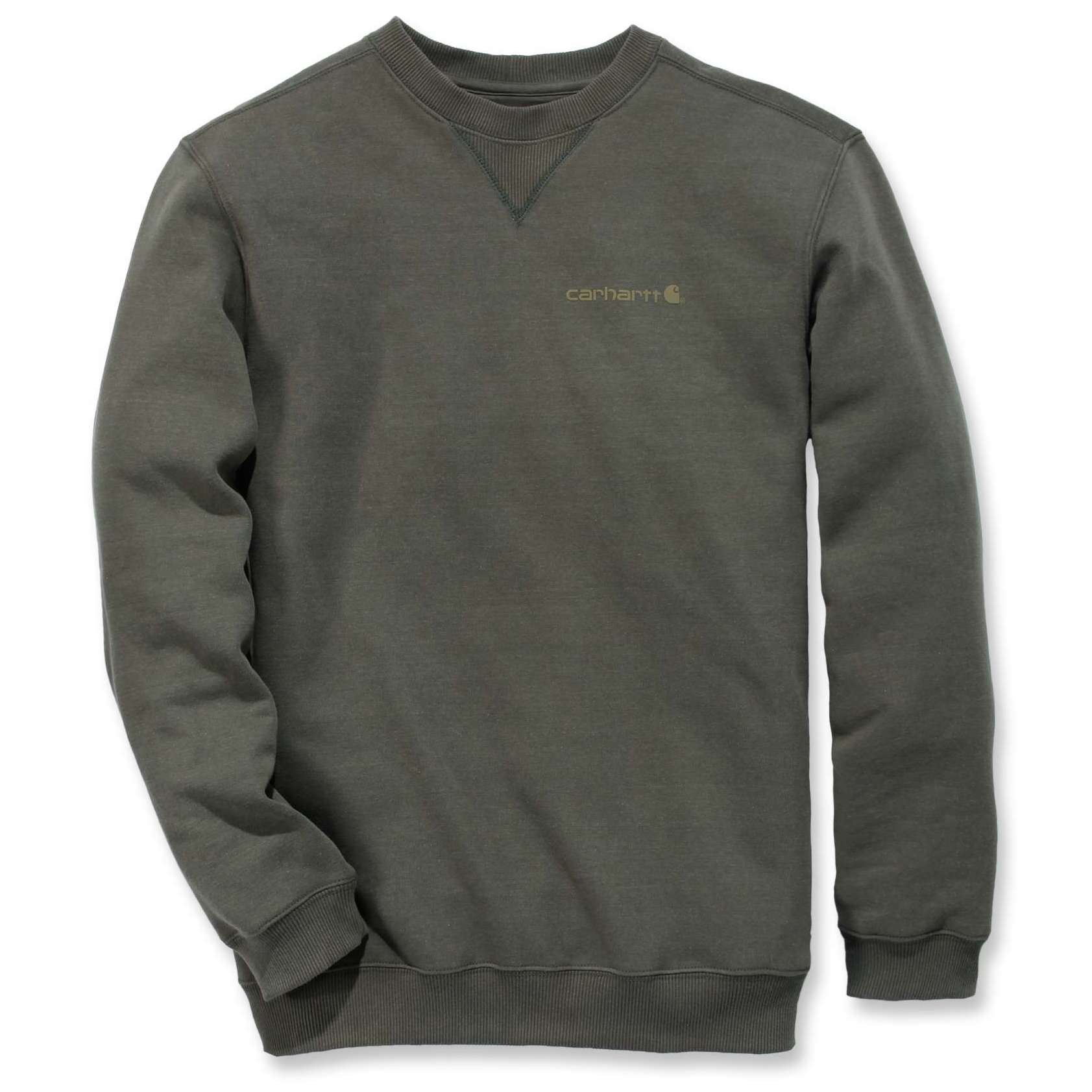 Свитшот Carhartt Graphic Pullover - 103307 (Moss; S)
