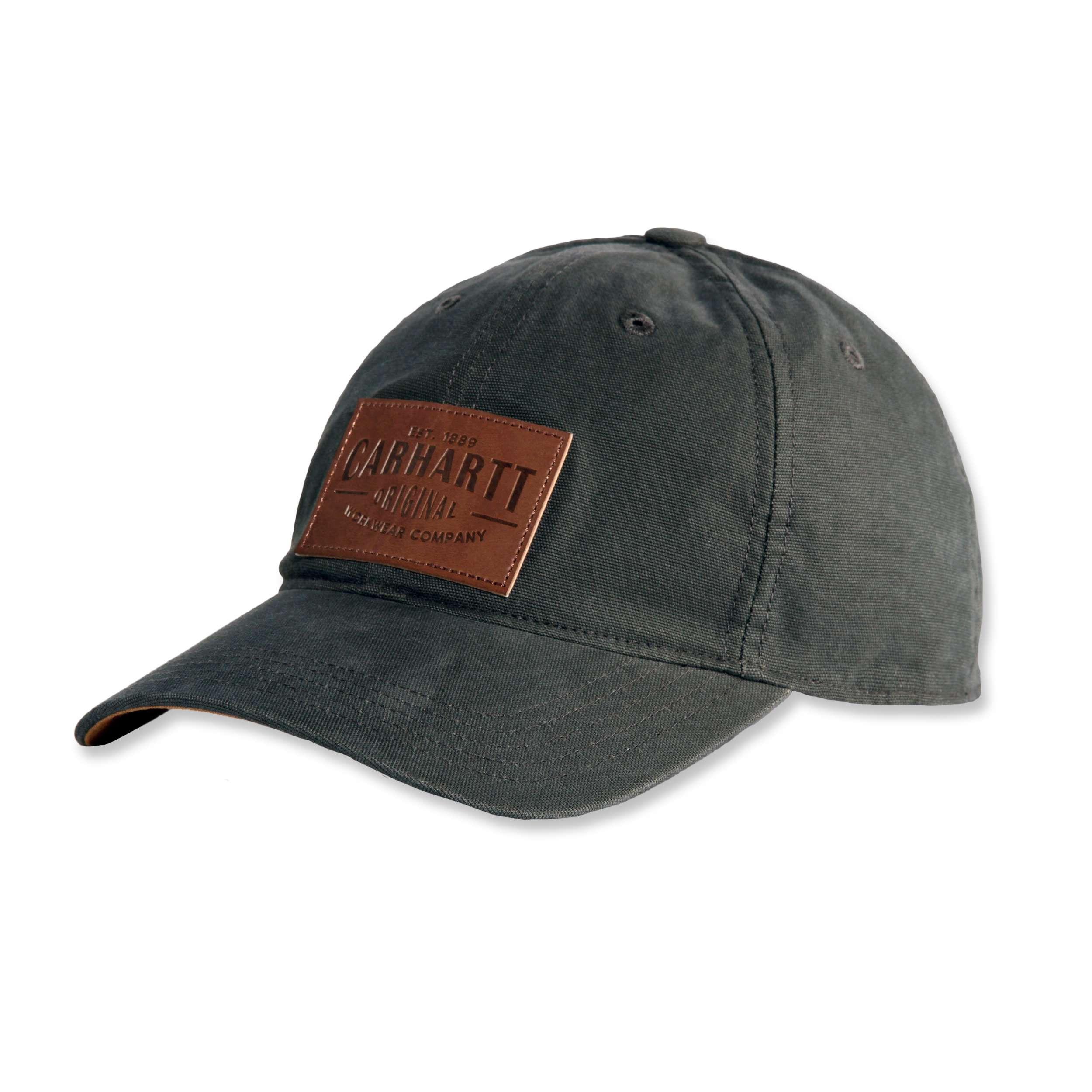 Кепка Carhartt Rigby Stretch Fit Leatherette Patch Cap - 103534 (Peat, L/XL)